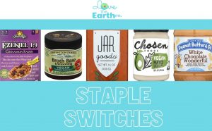 Vegan switches for pantry staples